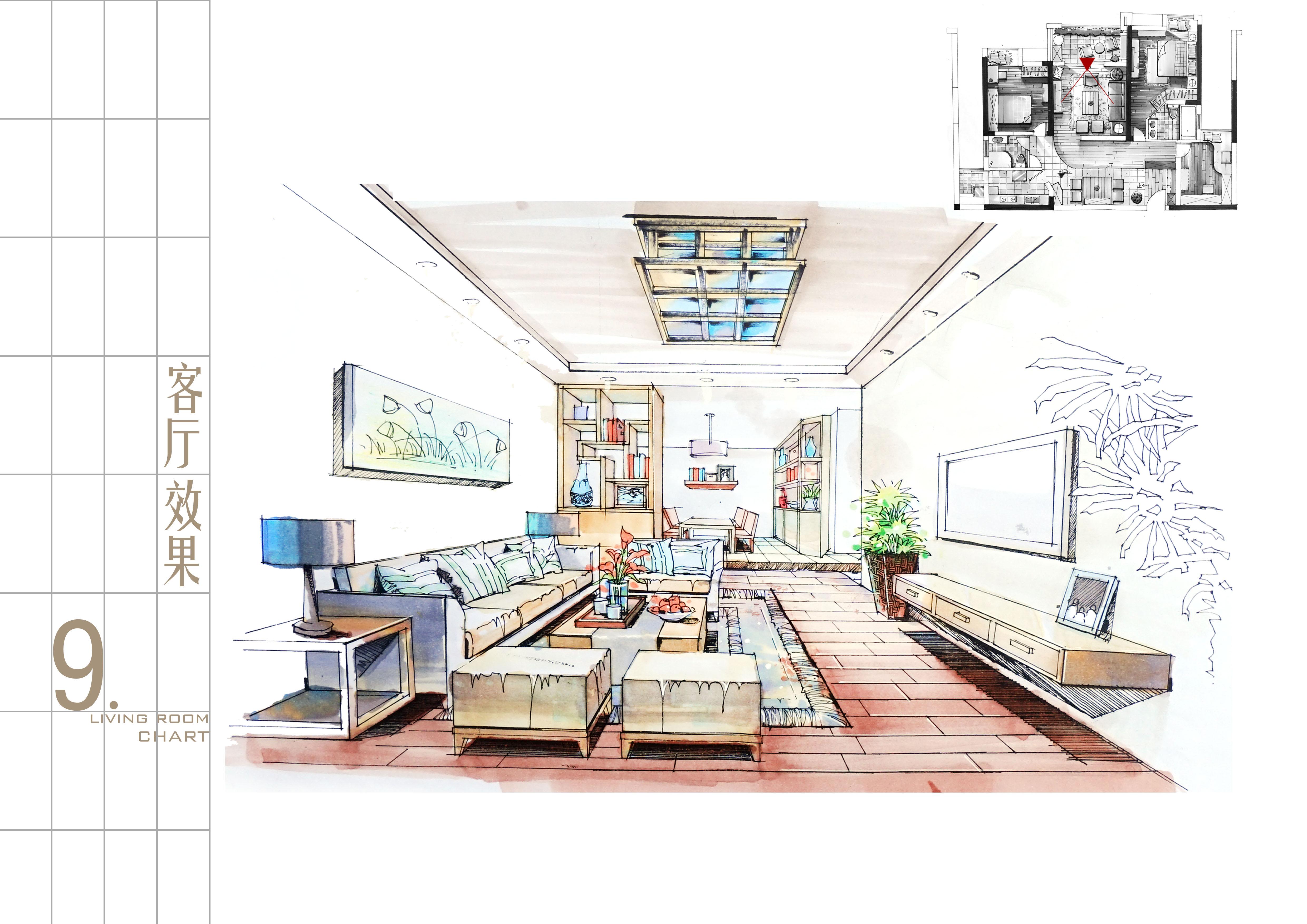 室内空间设计图片