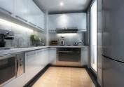 现代简约厨房空间