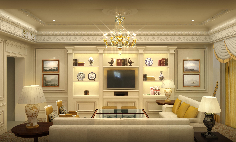 欧式,美国室内-室内设计-空间-作品-中国设计之窗