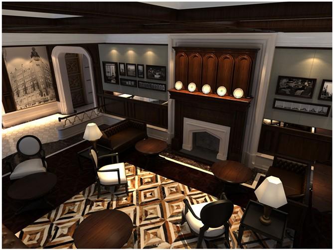 中西融合——海派2-室内设计-空间-设计作品-中国设计