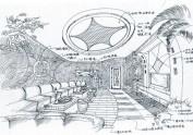 以前做过的一些室内设计的手绘图