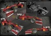 3Dmax制作的F1赛车