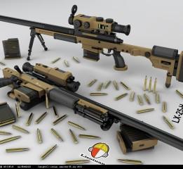 枪械设计—LX-25H