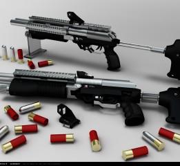 枪械设计—LX—23H