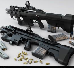 枪械设计-LX-22H