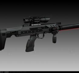 枪械设计—LX21