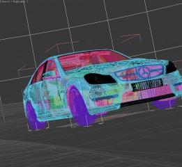 CGI汽车摄影冲刺吧骚年C63赛道之旅