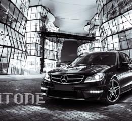 CGI汽车摄影之梅赛德斯奔驰C63