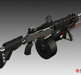 """枪械设计LX-17""""丧尸控"""""""
