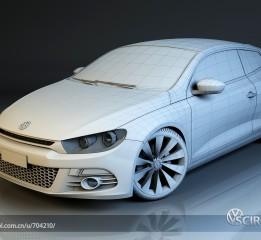 精悍小钢炮—VW尚酷小白模!