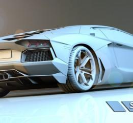 不会飞的大牛AventadorLP700-4