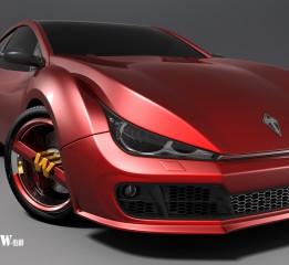 """最新汽车设计—""""T5""""新鲜出炉,呵呵"""