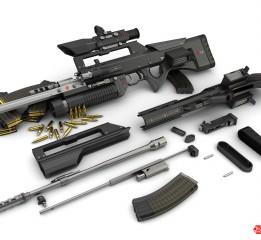 """枪械设计LX-16""""猛犸"""""""