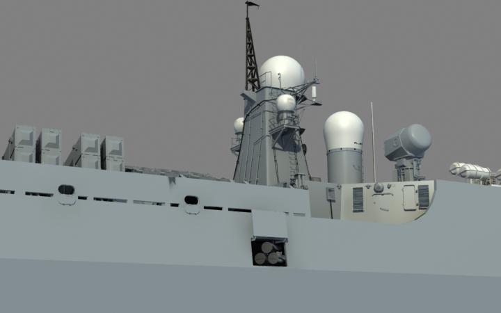 我制作的舰船知识护航纪念画册《亮剑亚丁湾》中的部分3d作品(有更新)