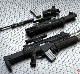 枪械建模ARX-160