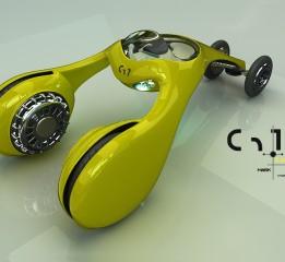 《童年之概念车系列-摇摇鼓》