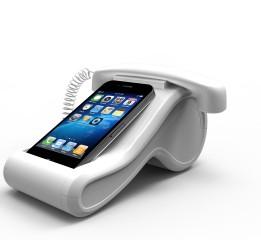 iPhone创意桌面Dock