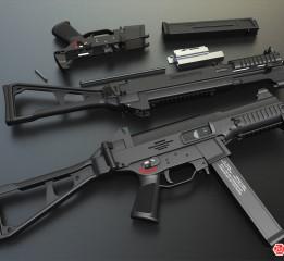 枪械建模—UMP45