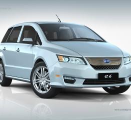 BYDE6电动新能源汽车