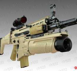 枪械建模-SCAR