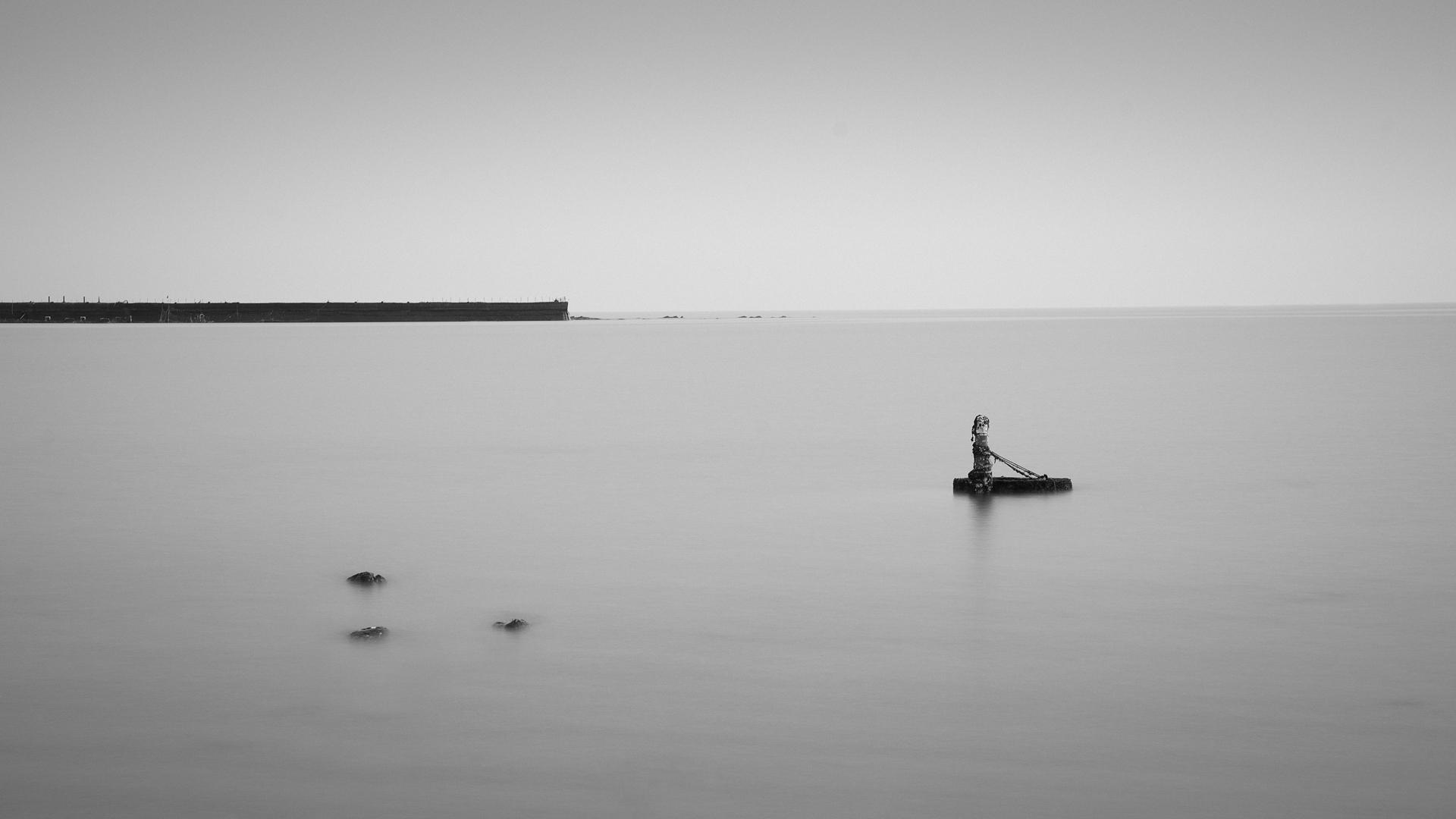 一些海景黑白作品-风光-摄影-设计作品-中国设计之窗