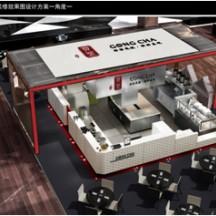 连锁餐饮——台湾贡茶大中华区连锁店整体设计和施工