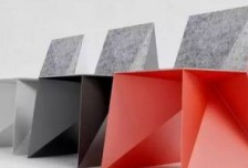 大胆的几何Q5椅子 呈现家居创意设计相关图片