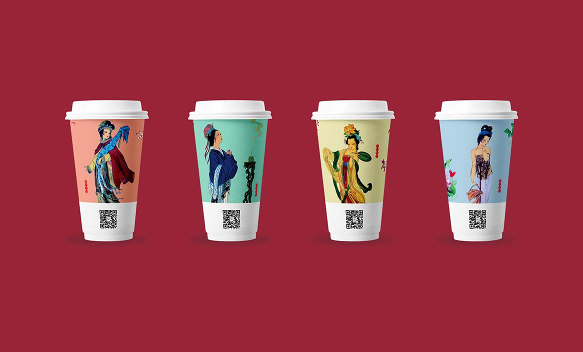 茶花赋奶茶包装设计9