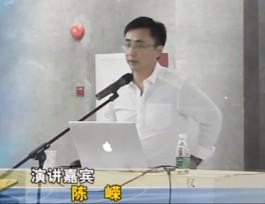 陈嵘:汉字澳门正规博彩主题演讲