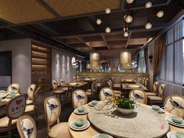 成都餐厅设计装修公司,以考虑到大多数餐厅面积较小,不能做很多装饰,这时业主可通过一个简单的装饰来打扮餐厅,那就是在餐厅中摆放一些绿色植物,绿色植物不仅能起到净化空气的作用,还有很好的装饰作用。