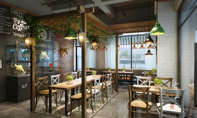 总结:在餐厅设计中,门脸都是十分重要的,它是餐厅形象的重要组成部分。在繁华地段要看起来相当吸引顾客的眼球的。一般设计这样的餐厅,一看起来都是大中型餐厅。要有极大的空间可用来表现外观,通常外观设计的空间资源有限。因此,在整体外观设计上,更  要极力突显所经营餐厅的特色,突出设计一个好的门脸。(餐厅设计公司)