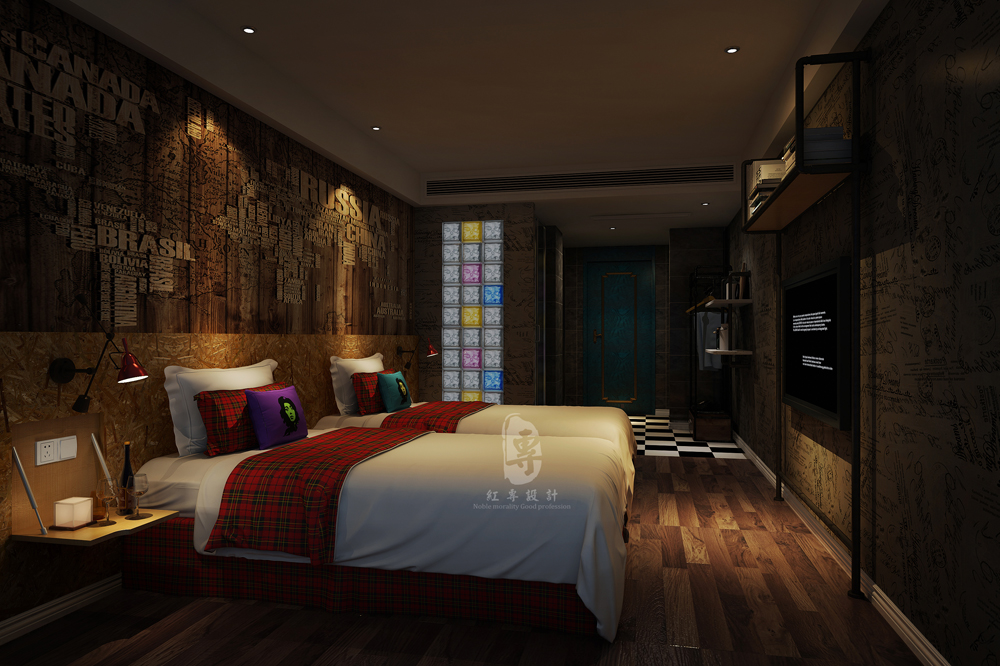 衢州五星级酒店设计公司 遇尚艺术主题酒店-室内设计