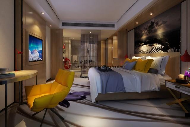 绵竹四星级酒店设计公司|M精品酒店