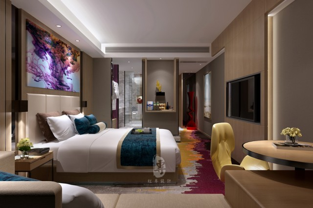 湖北四星级酒店设计|万达H和枫酒店