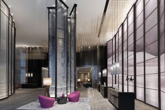 设计分享:  用彩砖为酒店设计增点色  看厌了中规中矩的设计和配色?酒店设计有没有想要来点不一样的?红专设计推荐一种功能和颜值兼具的卫生间墙地面材料--彩砖。  从功能性上来讲,彩砖作为瓷砖的一种,具有防水的特性。特别适合卫生间、厨房这些多水易潮的空间。而且便于清理。从装饰性上来讲,彩砖明亮的色彩给卫生间带来了无限的趣味性。尤其是酒店设计,需要表达鲜明的个性化特征,不同图案的纹路丰富的花砖,给整个空间增添了无限多的排布变化和想象空间。  酒店设计在使用彩砖的时候需要特别注意整个空间的协调性,彩砖颜色比较跳脱,在整体风格偏严肃、冷淡的主题酒店空间,则不宜大面积使用彩砖,可以采用局部装饰的方式提亮整个空间,建议将彩砖用在洗手台前、浴缸上部或者其他需要防水的区域或者壁龛这种功能分界处。在酒店设计中,当使用彩砖作为地面材料的时候,需要注意与墙色相比,地面颜色不宜单薄,以免头重脚轻。