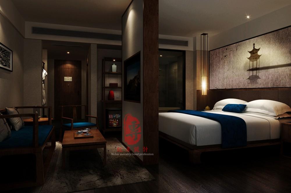 茂名专业酒店设计公司|静庐精品酒店