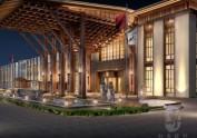 邛崃五星级酒店设计公司-红专设计|九