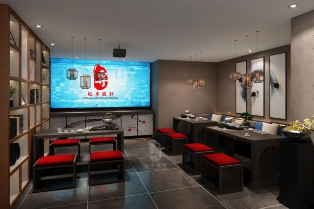丹东专业酒店设计公司-红专设计|水云里禅茶酒店