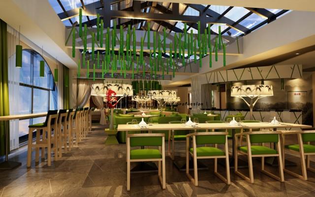 设计说明:  本案地处中国竹海的故乡---宜宾市长宁县、本酒店的设计定位为竹主题酒店设计,在该竹主题酒店设计中、红专设计充分使用了与竹主题酒店设计有关的诗词歌赋、与竹主题酒店设计有关的人文和景点、与竹主题酒店设计有关的工艺品和实用品。  红专设计在本主题酒店设计的核心为: 品竹之艺、尝竹之味、享竹之美景、受竹之精神。该酒店是一个完整的竹主题酒店设计。在该主题酒店设计中、竹的形、竹的意、竹的艺、竹的情、竹的诗、竹的歌,您均可品到!不管您是当地人、还是外地人,不管您是旅游者、还是商务者,不管您是年轻情侣、还是老年夫妇,品竹大酒店都值得您下榻!