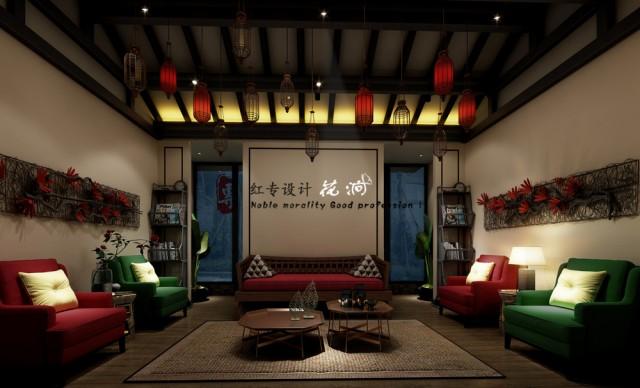 项目名称:花涧客栈  项目地址:博客小镇博客里  设计单位:红专设计