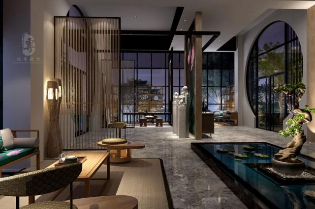 """设计说明:安康逸生活精品酒店作为红专设计在陕西省的精品酒店设计案例的又一力作,结合酒店投资人对酒店项目的期望及对周边竞品酒店的考察,通过消费人群的定位及合理的功能规划方式将用户体验做到极致,用简洁、现代、个性、潮流设计元素构建大隐隐于市的酒店格局,让人在闹市区中获得一个栖息之地,独得禅静悠然!""""扬手是春,落手是秋"""",起落之间,忘却世间营营,把生命和时间留给自己。"""
