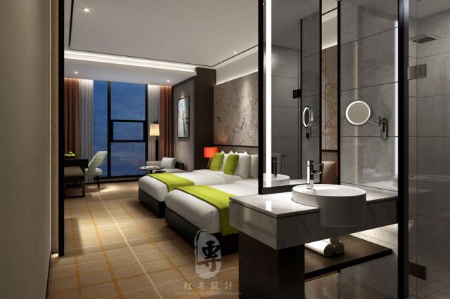 万源精品酒店设计公司-红专设计 莱美城市精品酒店