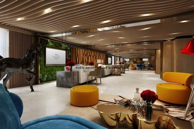 项目名称:M酒店  项目地址:贵阳市花果园大街141号  设计单位:红专设计