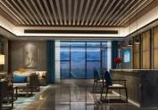 上海四星级酒店设计公司|水云里禅茶