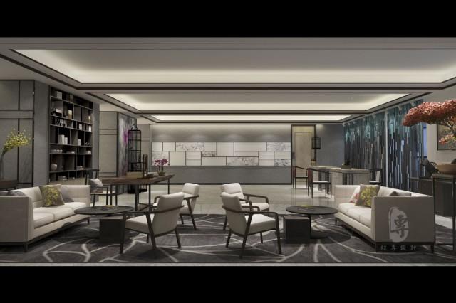 """说明:郫县第一个以具有当地代表性的杜鹃花、布谷鸟等为基本设计元素,并提炼生活美学和国际感的精品酒店设计案例,必将为喜爱巴蜀文化和郫县文化的人提供一个完美的文化载体,形成具备绝对竞争优势的精品酒店,为不同客户群体提供不同的优质酒店服务,其中以针对男性为创作基点的禅居系列文化,必将为中高端的精品男士提供完美""""息、洗、睡、游、养、娱""""的深度体验。以针对女性为创作出发点的花样系列客房,在客房中设置了独立的Party区、化妆台,和融入了极具生活美学的杜鹃花元素,并进行了抽象设计,必将吸引具有一定品味的女性用户群体。同时,该精品酒店设计时全线贯通养生哲学,使用茶砖特殊的装饰手法和散发出来的茶香气味,营造一种特殊的气质和起到安神的作用。"""