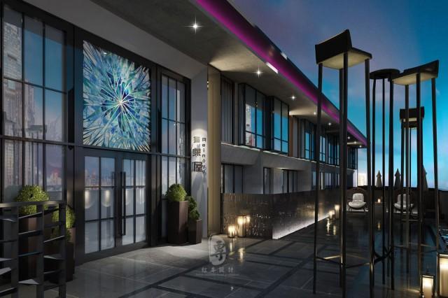 项目名称:瑞莱精品酒店  项目地址:贵阳北大资源梦想城7号楼  设计单位:红专设计