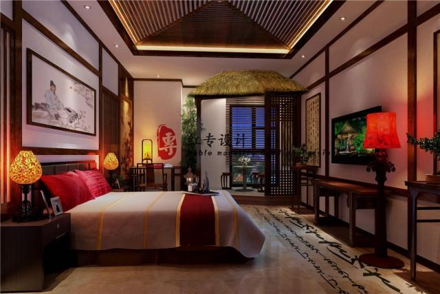 信阳四星级酒店设计公司|蜀语印象酒店