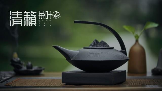 清籁茶品牌LOGO形象设计·黑马奔腾策划设计腾策划设计