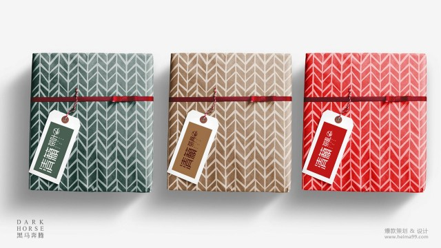 清籁茶品牌LOGO形象设计·黑马奔腾策划设计
