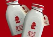饮料包装设计 喜达克老酸奶【黑马奔
